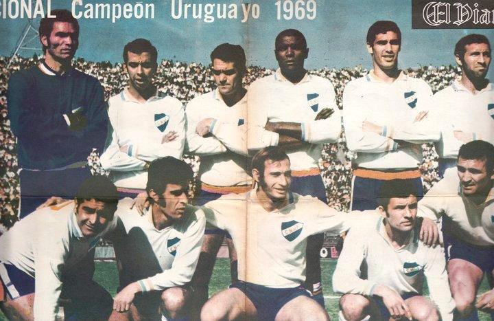 H πρωταθλήτρια Ουρουγουάης το 1969, Νασιονάλ του Μοντεβιδέο