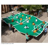 Benedetto Bufalino, ο καλλιτέχνης που φτιάχνει γήπεδα στο πουθενά (pics & vids)